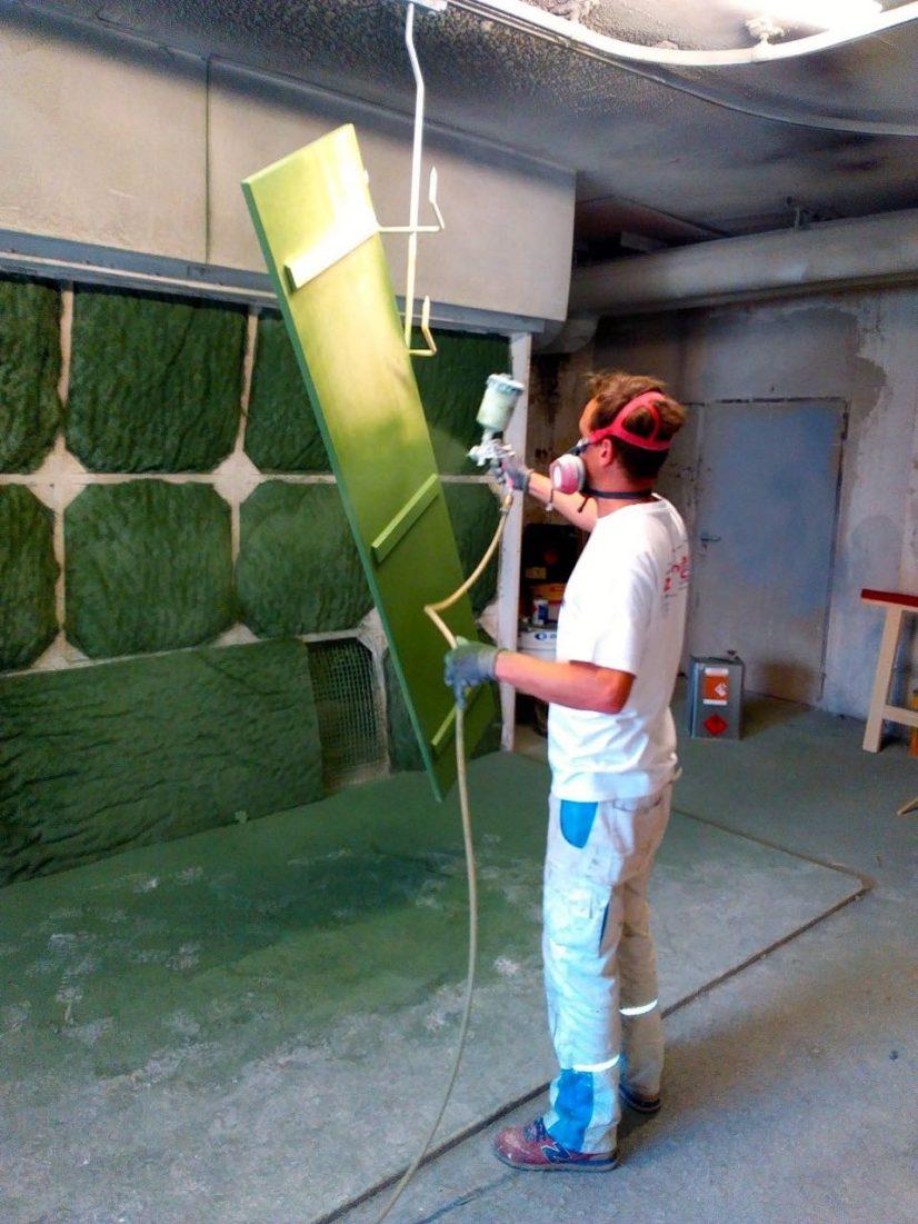 Lackieren Fensterladen Maler Rosenheim