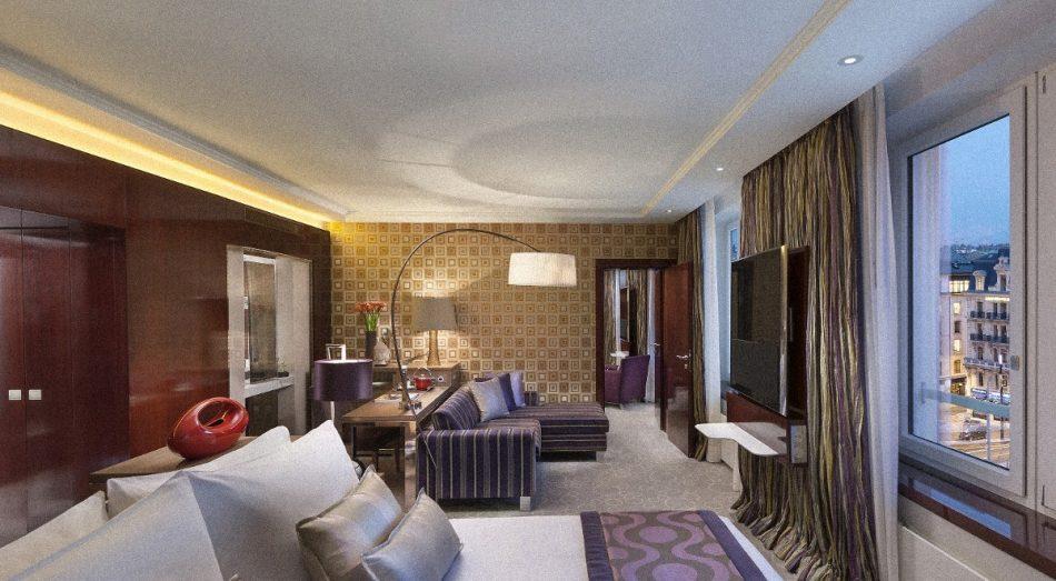 Hotel Tapete München Maler